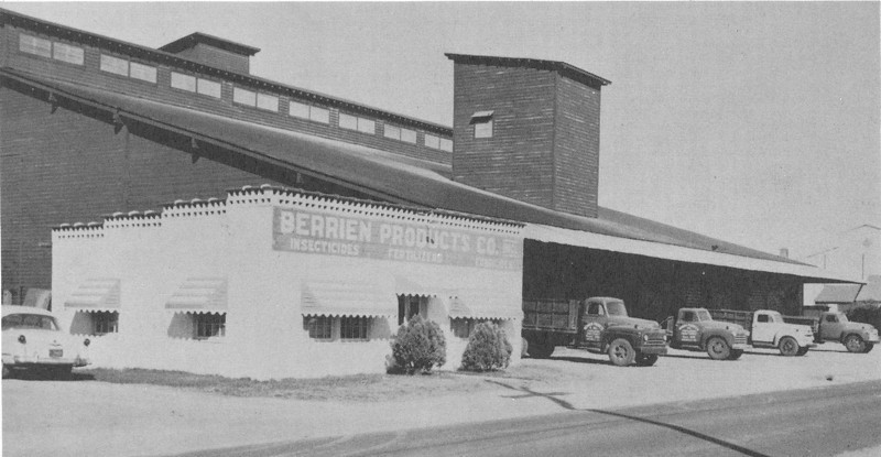 Berrien Products Co 1957 ad (from BHS yearbook)