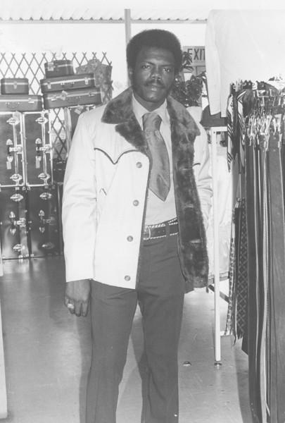 B.C. Moore's Department Store, Sam Bass, winter preview, June 1975