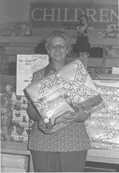 B.C. Moore's Department Store, Juanell Mathis, June 1975