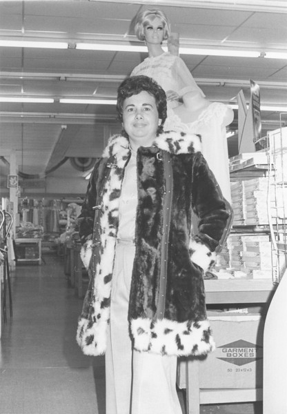 B.C. Moore's Department Store, Jean Smith, June 1975