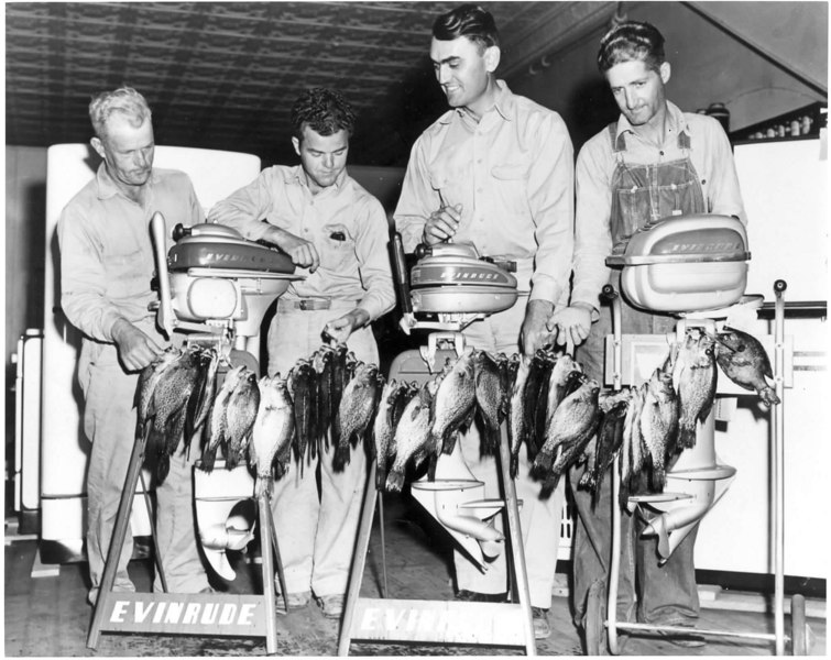 Stallings Appliances, Left to right: Jim West, Dick West, Roscoe Stallings, Shelly Harper