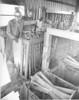 Hubert Moore Lumber Co. Alapaha, 1972, Henry Newsome, left, Eugene Rudeseal, right