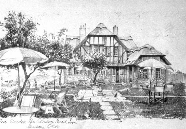 <font size=3><u> - Old London Road Inn - 1930s </u></font> (BS0085)  Burned down in the early 40s.  Ground floor now a bungalow to be seen to this day at the top of Beggars Bush Hill.