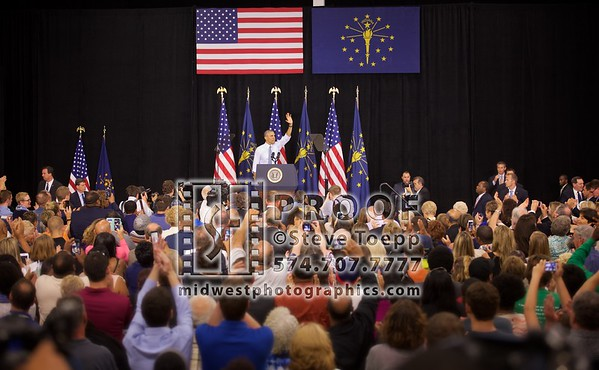 President Obama Visits Elkhart, IN 2016