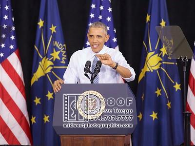 President Obama visits Elkhart