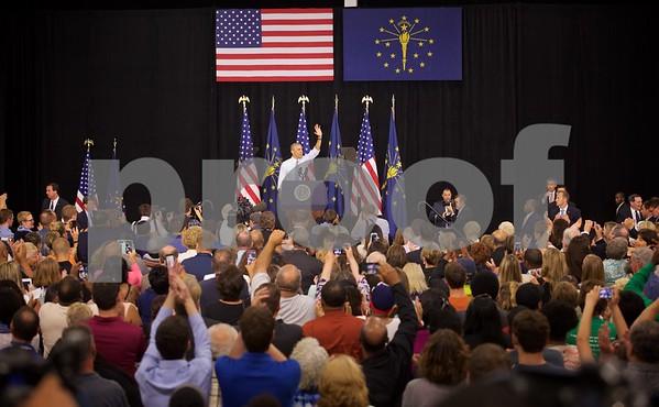 President  Obama visits Elkhart- Complete