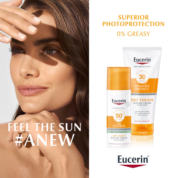 Eucerin Dry touch campaign