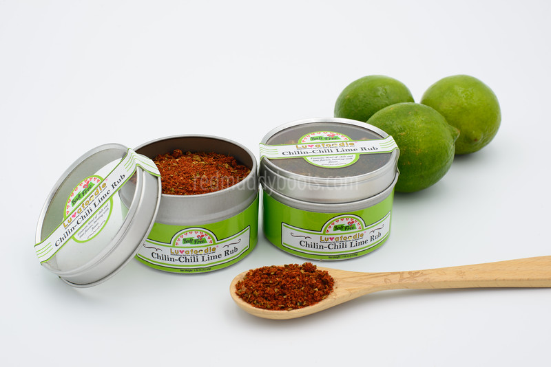 Luvafoodie LLC | Chilin-Chili Lime Rub