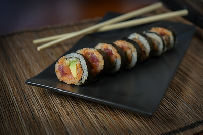 Sushi or Menu Item Photography