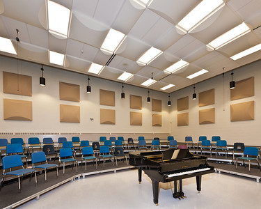 Sayreville War Memorial High School Chorus Room