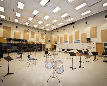 Sayreville War Memorial High School Band Room