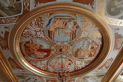 joel cook twin palms studio joel cook art artist painting ceiling mural french gilding orlando florida old world