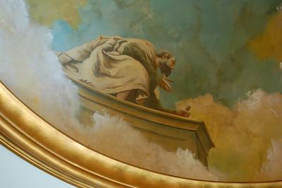italian venetian fresco ceiling