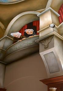 trompe l'oeil opera house ceiling mural