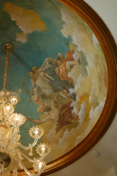 ' Venetian Fresco' dome painting
