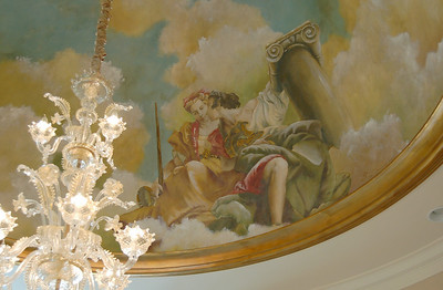 venetian fresco domed ceiling