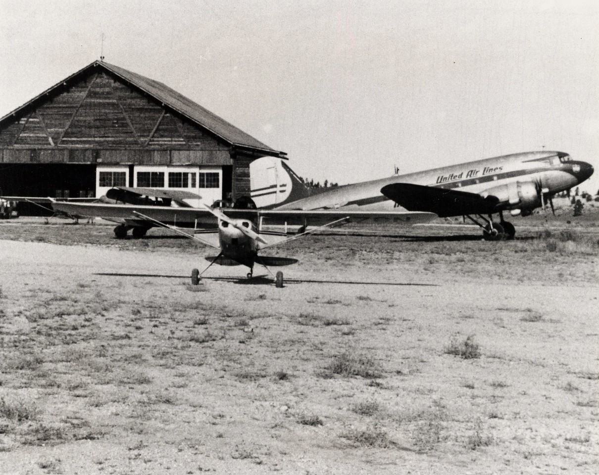 During the days after the accident, Bryce Canyon Airport was a scene of considerable activity. <br /> <br /> A United Air Lines Douglas DC-3 brought in their own team of accident investigators while smaller planes were being chartered by the press to bring in reporters to cover the story