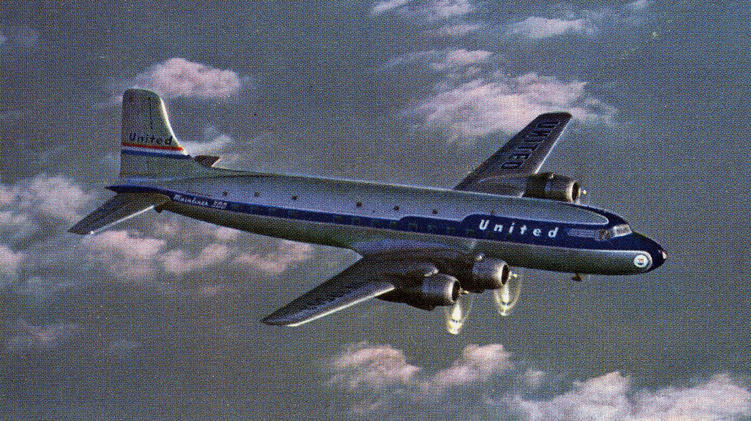 "At the time, the DC-6 was the newest and fastest production airliner at the time. President Harry Truman used a DC-6 ""The Independance"" as his personal aircraft."