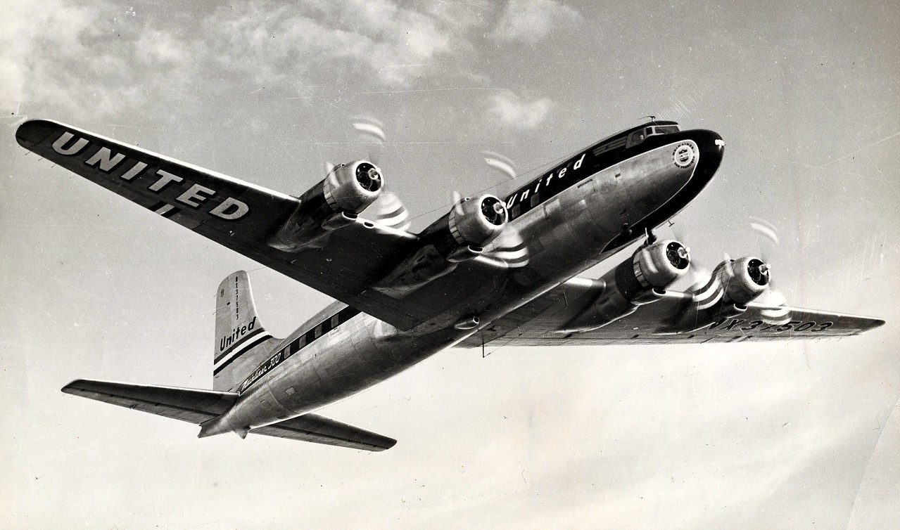 "AIRCRAFT INVOLVED<br /> <br /> The Douglas DC-6 (NC37510) was a first production aircraft of it's type, so naturally there were a few ""bugs"" to work out, but no one expected the in-flight inferno that United flight 608 experienced."