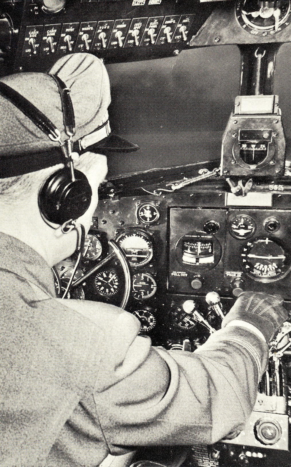 On early TWA flights the Captain normally made adjustments to the engine and propeller controls. Almost all landings and takeoffs were performed by the Captain.