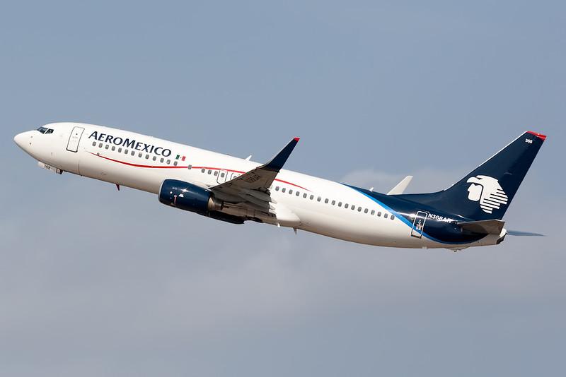 2011 Boeing 737-86J C/N 36880<br /> AMX429 MEXCUN / MEXMIDCUN WX CUN<br /> <br /> Manuel Crescencio Rejon Intl Airport (MID | MMMD)<br /> Merida, Yucatan <br /> Mexico<br /> <br /> [Canon EOS 1D Mark III + EF 100-400mm f4.5-5.6L USM]