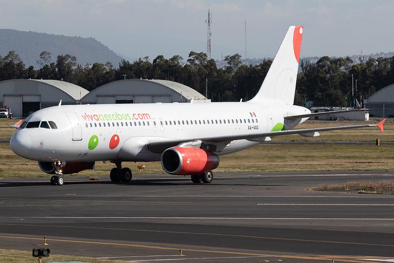 VivaAerobus Airbus A320-200 XA-VAG MMMX 07DEC18
