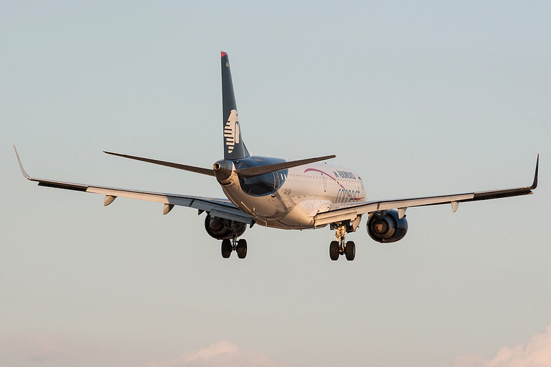 Aeromexico Connect Embraer 190 XA-GAI MMMD 17MAR18