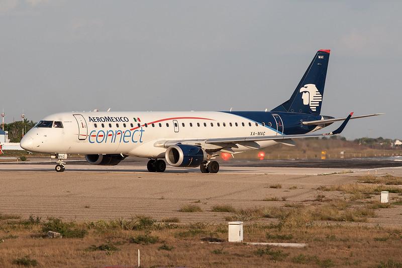 Aeromexico Connect Embraer 190 XA-MAC MMMD 17MAR18