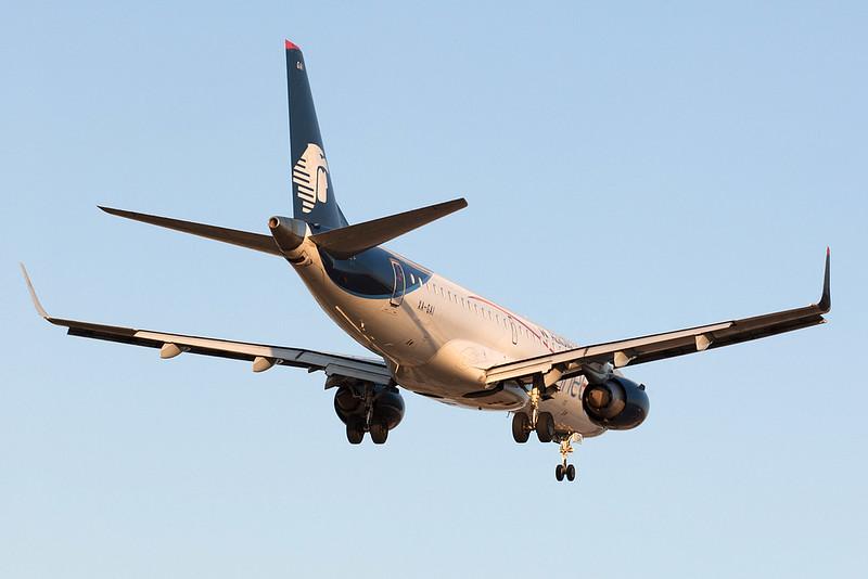 Aeromexico Connect Embraer 190 XA-GAI MMMD 17MAR18
