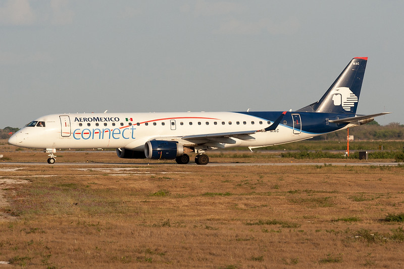 Aeromexico Connect Embraer 190 XA-MAC MMMD 17MAR18