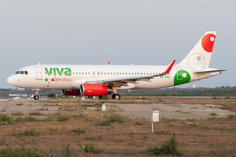 Viva Aerobus Airbus A320-200 XA-VAK MMMD 18MAR18