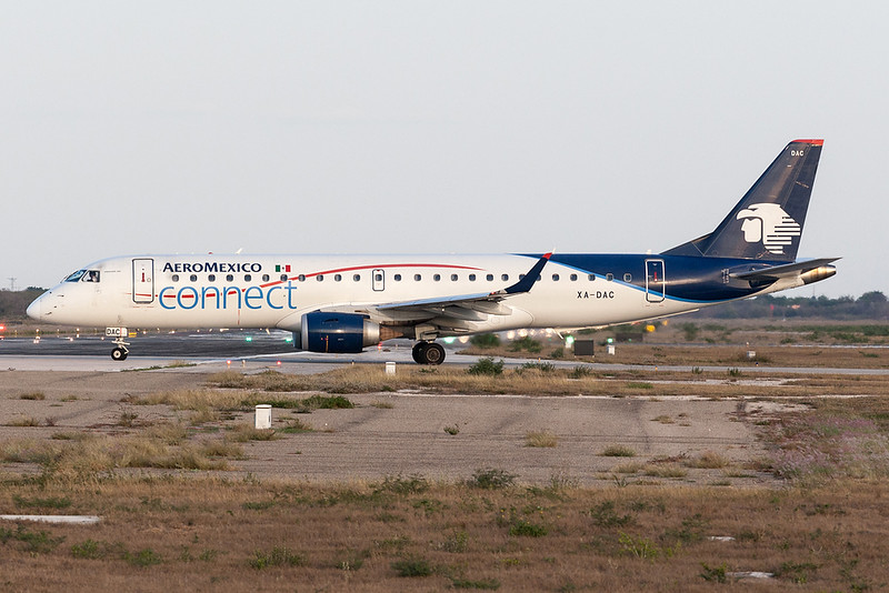 Aeromexico Connect Embraer 190 XA-DAC MMMD 18MAR18
