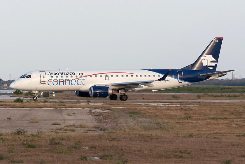 Aeromexico Connect Embraer 190 XA-DAC MMMD 18MAR18