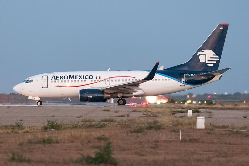 Aeromexico Boeing 737-700 N423AM MMMD 18MAR18