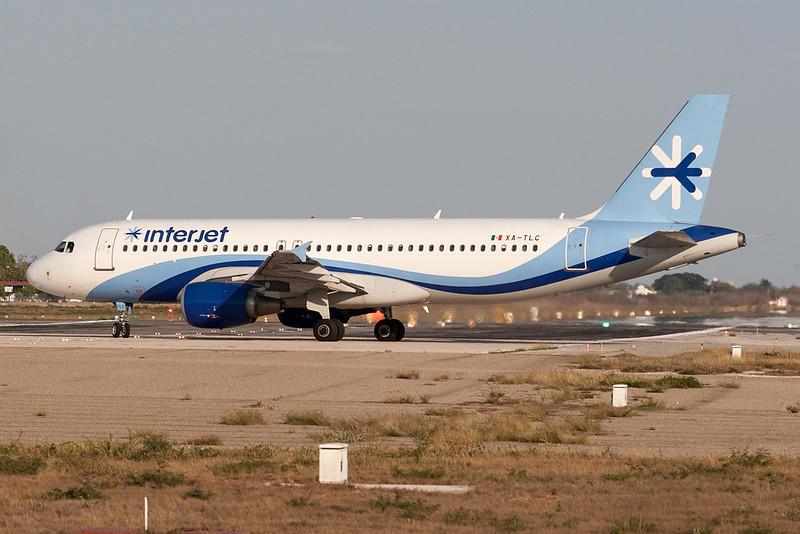 Interjet Airbus A320-200 XA-TLC MMMD 18MAR18