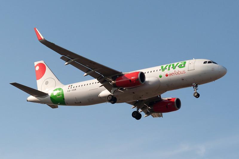 Viva Aerobus Airbus A320-200 XA-VAN MMMD 18MAR18