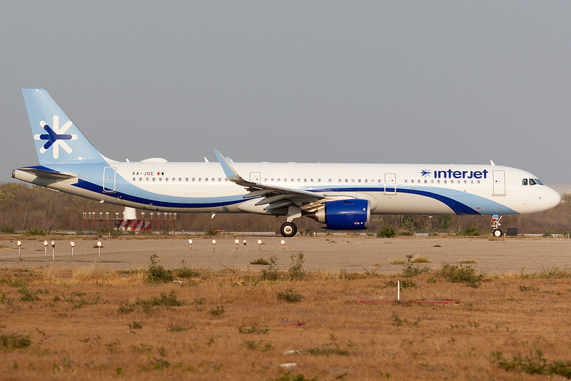 Interjet Airbus A321-200N XA-JOE MMMD 08APR18