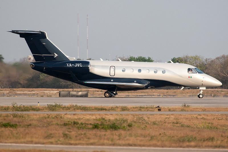 Embraer E-550 Legacy 500 XA-JVC MMMD 08APR18