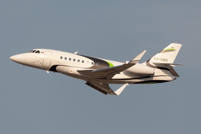 Dassault Falcon 2000 XA-GMO MMMD 08APR18