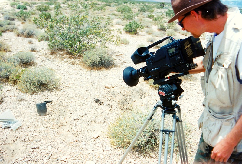 EXCAVATION OF FLIGHT 736 BEGINS - 1995:<br /> <br /> Doug Scroggins documenting the excavation of United Flight 736 for a Lost Birds episode.