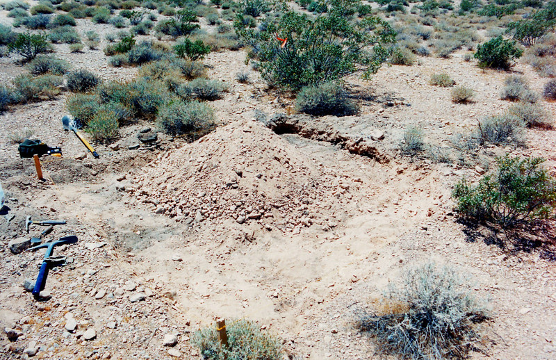 Recovery work began during late 1995 using the standard conventional archaeological grid method of excavation. Each grid was excavated and artifacts recovered were mapped as to their location.