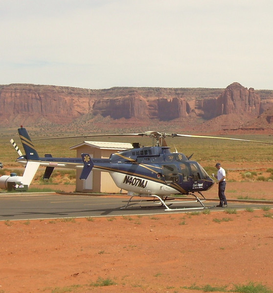 N407MJ was one of two medical helicopters operated by Classic Lifeguard of Page, AZ. The other was N407MH, also a Bell 407.
