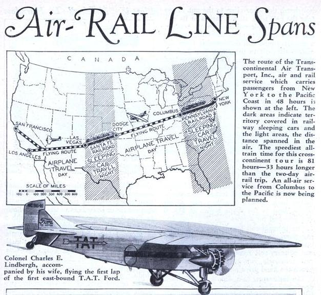 For the first time ever, the traveling public was now able to experience the benefits of commercial air travel.