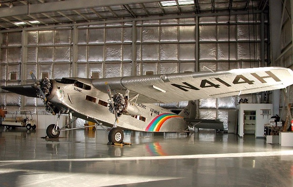 "FORD 5-AT-C TRI-MOTOR (N414H)<br /> <br /> Out of the 199 Ford Tri-Motor aircraft built, very few exist today. Even fewer are in flyable airworthy condition. N414H, built in 1929, is not only in flyable condition, but is also a Model 5-AT. The same model aircraft as the ""City of San Francisco"".<br /> <br /> Many of the recovered and documented fragments from the crash site were able to be matched to structure and components from this aircraft."