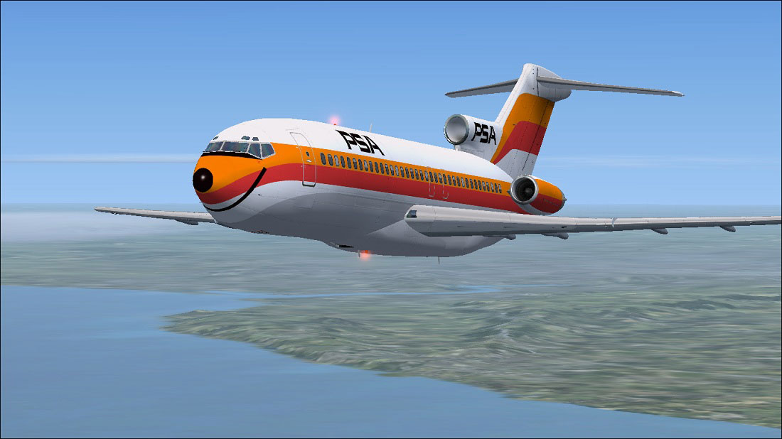 Departing Los Angeles International Airport, PSA Flight 182 flew southbound along the coast of Southern California towards San Diego. The weather was clear along the entire route with visibility greater than 10 miles.