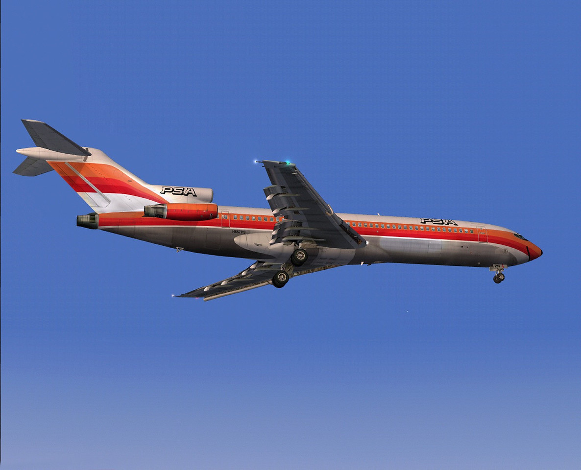 """As Flight 182 neared its destination, the PSA crew was alerted by the approach controller about a small Cessna 172 Skyhawk aircraft nearby.<br /> <br /> The PSA pilots reported that they saw the Cessna after being notified of its position by ATC, although cockpit voice recordings revealed that shortly thereafter the PSA pilots no longer had the Cessna in sight and they were speculating about its position. Lindbergh tower heard the 9.00:50 AM transmission as """"He's passing off to our right"""" and assumed the PSA jet had the Cessna in sight."""