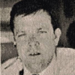 """Flight Engineer Martin J. Wahne<br /> <br /> Flight Engineer Wahne (pronounced """"Wayne""""), age 44, joined PSA in 1967. Wahne had 10,800 hours as a Flight Engineer of which 6,587 were in the Boeing 727."""