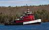 The Peggy Winslow, one of the Elliot Winslow tugboat fleet from Southport Island, Maine.
