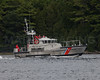 US Coast Guard Motor Life Boat 47286, out of Station Boothbay Harbor,  escorting the USS Michael Murphy down the Kennebec.  6561