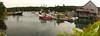 South Bristol Panoramic.  South Bristol, Maine